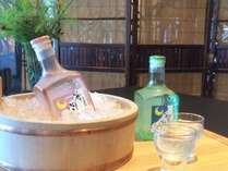 宿オリジナルの大吟醸酒の画像