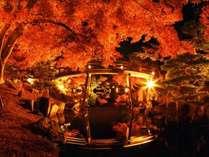 玄宮園紅葉写真の画像