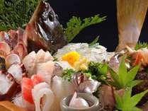 網元ならではの鮮度抜群大漁鉢盛り