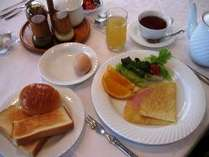 さわやかに朝食を