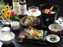 提携レストランの花南の信州創作和食