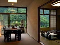 絶景テラス付特別室プラン染井四季とグルメと温泉と」