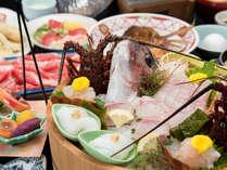 「伊勢海老も松阪牛も食べたい!」お客様のリクエストから生まれた贅沢会席と自家源泉