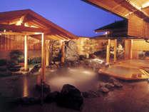 *【大浴場】1階/庭園露天風呂(風待ちの港)