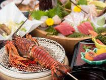 *【夕食一例】伊勢海老を贅沢に味わう<伊勢海老会席>