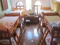 男女兼用ドミトリー8人部屋