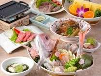 【じゃらん限定】4つ星記念♪ 愛媛のお土産4つプレゼント バイキング付き「鯛」と「伊予牛」グルメコース