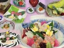 和食の極み!≫■『和食』フルコースプラン 【造里四種盛り・河豚バター焼・和牛温石焼・ウニ飯…】など