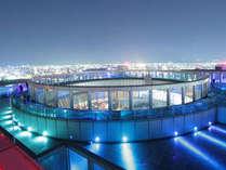 地上約173mの空中庭園展望台から大阪市内の景色を一望
