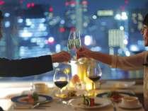 Osaka摩天楼Dining/EXECUTIVE(RoomServiceDinner付)