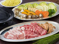 信州牛BBQ♪「りんごで育った信州牛」は、「肉質」「脂質」「霜降り」のバランスに優れています