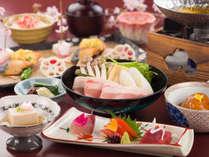 お手軽な料金で会席料理を楽しめる「全7品」のコース