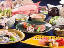 「季節ごとに旬の食材を堪能してもらう」をコンセプトに丁寧に仕上げた全10品のこだわり和会席。