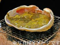 *【甲羅焼き】カニみそがとっても美味しい~♪