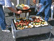 夏に人気のプラン★夏ならではのなんとも心地良い野外BBQ♪