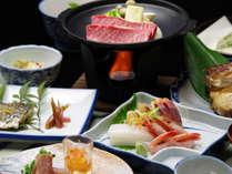 *一番人気、スタンダード会席料理の春・秋のお料理一例。朝捕れの旬の魚介類をふんだんに使ってご提供!