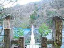 ☆絶景☆吊り橋から望むエメラルドの湖面【朝食付】