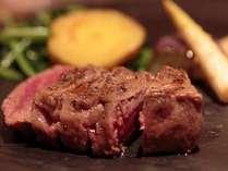 【極上鉄板会席】厳選お肉や魚介を会席仕立てのグリルで堪能~夕食15,000円コース/温泉付客室