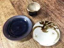 【冬のコラボ企画】出雲の伝統に触れる民藝の陶窯「出西」の器でいただくご馳走!☆創作会席・藍☆