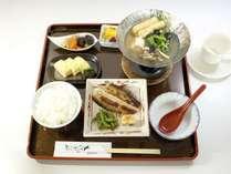 国産米のご飯がおいしい和食スタイルの朝食 営業時間 7~9時