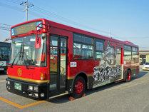 ご城下巡回バス 1乗車 210円、1日券 400円