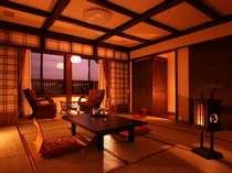 郷愁さそう懐かしい雰囲気 古民家風客室 09年03月リニューアル
