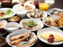和洋50種類以上からお選びいただける朝食バイキング♪(イメージ)
