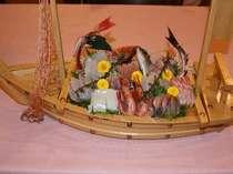 8~9種類の地魚の舟盛り