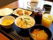 美味しい、和朝食