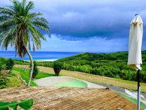 *[景色]太平洋を一望できる当宿からでしか見えない景色。