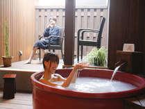 美肌効果抜群の更紗の湯☆誰にも邪魔されない入浴タイムを・・・(バスローブは有料貸出)