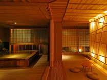 ≪純和風造りの総檜貸切風呂「鄙の湯」≫10:00~23:00/1時間3,000円