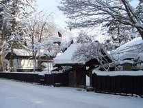 冬の青柳家