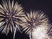 迫力満点!圧巻の花火が夜空を彩ります!