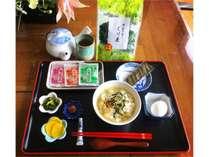 静岡産ぐり茶で作る『ぐり茶漬け』