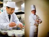 和食と洋食の食の匠が宿泊のお客様に朝の活力をお届けいたします。