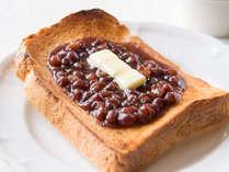 朝食/名古屋名物「小倉トースト」