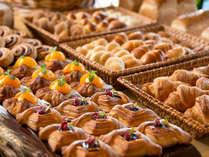 朝食/「ホテルメイドパン」たっぷり用意して、皆様のご来店をお待ちしております。