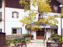 *外観/志賀高原琵琶池まで徒歩3分!志賀高原の観光拠点におすすめです。