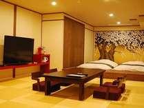 【限定1部屋 】【露天風呂付客室】ワンランク上の贅沢を・・・貴賓室『祝桜』でゆったりお部屋食プラン