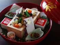 祝い膳(お祝いの方は前日までにご連絡いただければお祝いの飾りつけでご用意致します。)