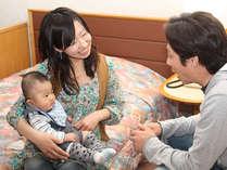 赤ちゃん子供歓迎♪ミルク離乳食オムツベビーベッド付