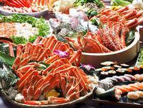 カニにお寿司が全部食べ放題♪和洋中エスニック70種類☆池の平ホテル自慢のバイキング!