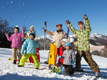 * 3世代旅行×雪遊びデビュー * ~孫の雪遊びデビューを家族みんなで見守り隊~ 選べる5点券★