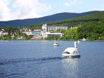 夏の平均気温22.8度の白樺湖は東京・名古屋から車で3時間30分とアクセス抜群。