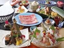 【グループプラン】4名以上でお得!近江牛しゃぶしゃぶ会席♪全室琵琶湖の見えるお部屋♪朝食はブッフェ