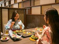 これからおいしい近江牛のステーキをいただきます♪