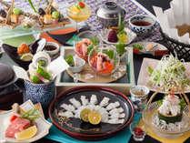6月~8月夏限定【はも&近江牛】◎鱧料理3品と◎近江牛ステーキ♪朝食は干物が人気のブッフェ。