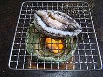 お一人様専用♪「磯三昧プラン」◆ あわび踊り焼、伊勢海老具足煮、サザエの壷煮、お刺身盛り合わせ付♪