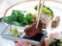 ☆こだわりのお肉を贅沢にステーキで楽しむ☆シェルブール自慢のグレードアッププラン■1泊2食付